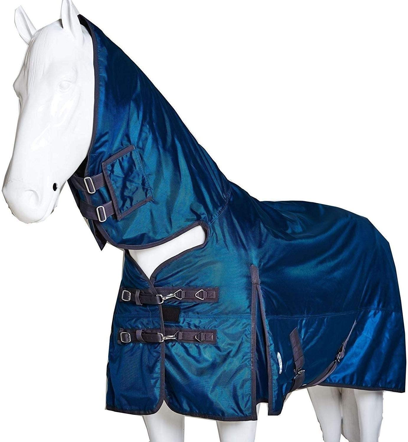 Horse Pony Turnout Rug Light Weight Combo Waterproof 100g 1680D Full Fixed Neck