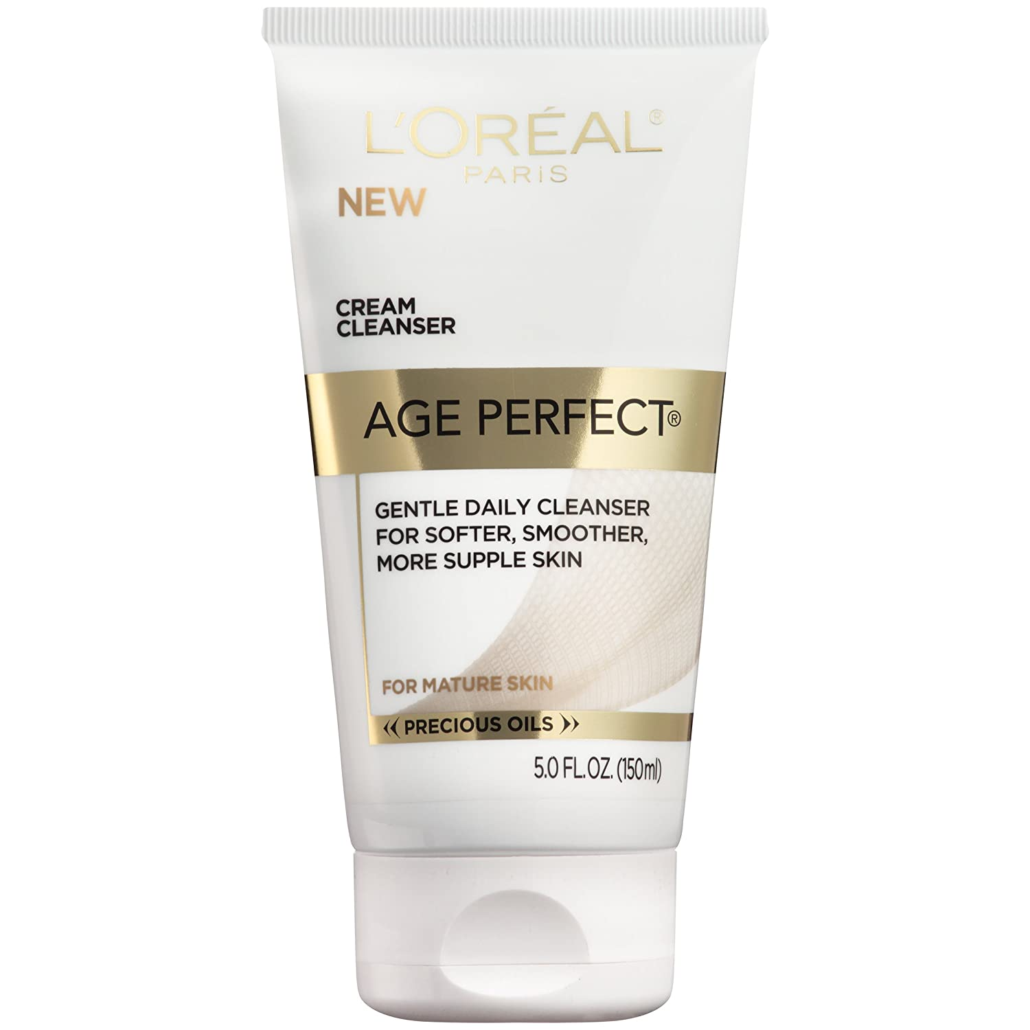 L'Oreal Paris Skincare Age Perfect Anti-Aging Cream Facial Cleanser, 5 fl. oz.