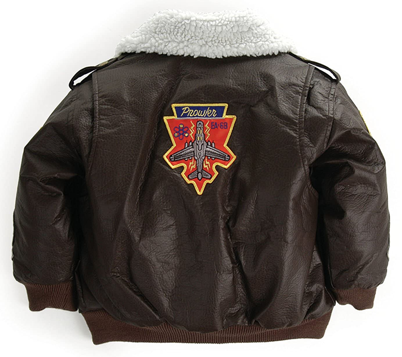 2fc0a4a6c Amazon.com  Up and Away Boys  A-2 Bomber Jacket  Clothing