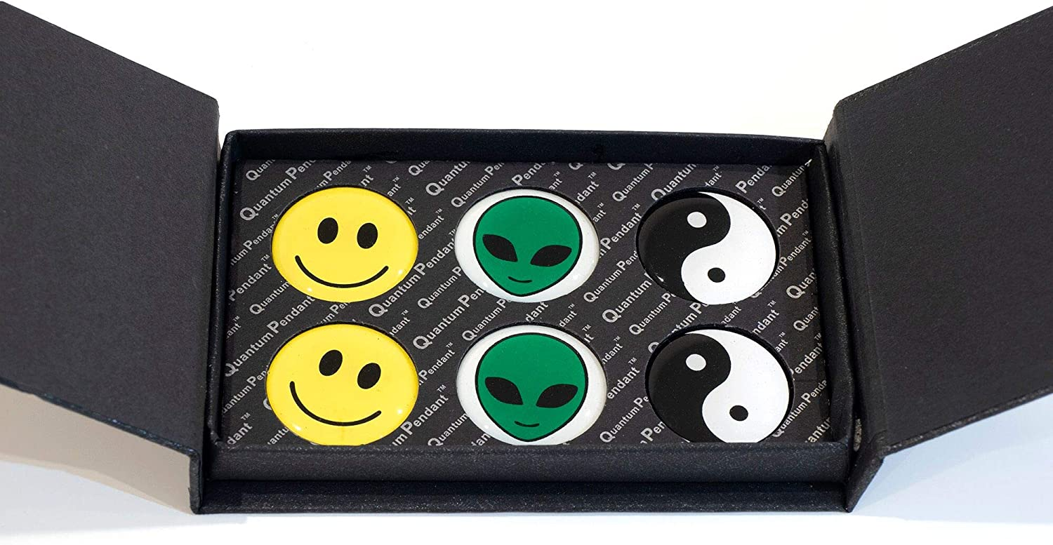 EMF Radiation Protection Sticker Shield for Cell Phone, Laptop, IPAD. Radiation Protection for Kids, Teens and Adults with Fun Design. 6 Pack.