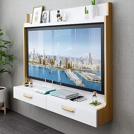 Mueble TV de Pared Router de WiFi Set Top Box Marco de TV Estante ...