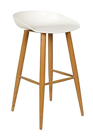 Ts Ideen Design Klassiker Barhocker Stuhl Retro 50er Jahre Barstuhl  Küchenstuhl Esstisch Stuhl Bistrostuhl Wohnzimmer