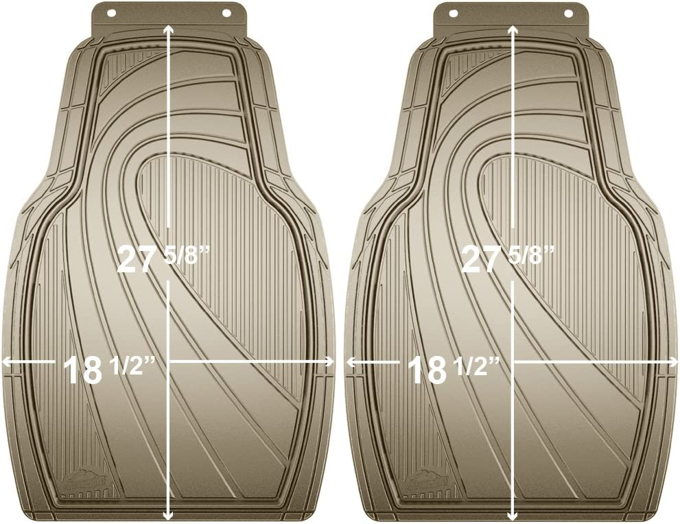2009 2008 GGBAILEY D2419A-F1A-BLK/_BR Custom Fit Car Mats for 2007 2011 2010 2012 Nissan Altima Sedan Black with Red Edging Driver /& Passenger Floor