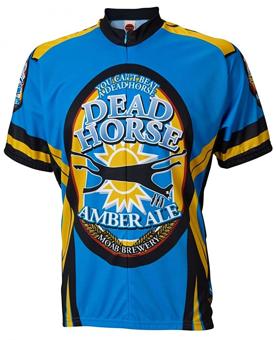 WorldジャージメンズMoab Brewery Dead Horse Cycling Jersey S  B077LP4M7L