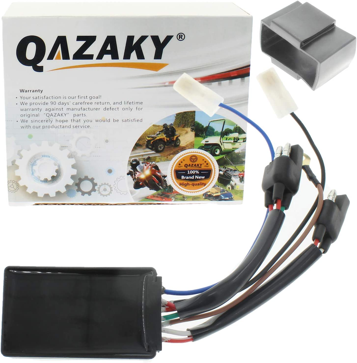 QAZAKY CDI Box Replacement for Polaris Big Boss Magnum Ranger Scrambler Sportsman Worker Xplorer Predator 335 400 425 500 90 3084691 3085382 3085564 3085639 3086982 495288 495853 Series 10 11 Carb