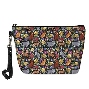 Canvas Cash Coin Purse,Pad Dachshund Print Make Up Bag Zipper Small Purse Wallets
