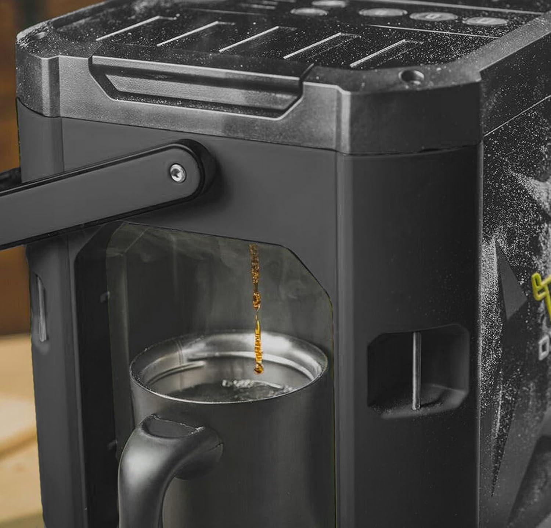 OXX COFFEEBOXX Job Site Single Serve Coffee Maker, Green CBK250G-00