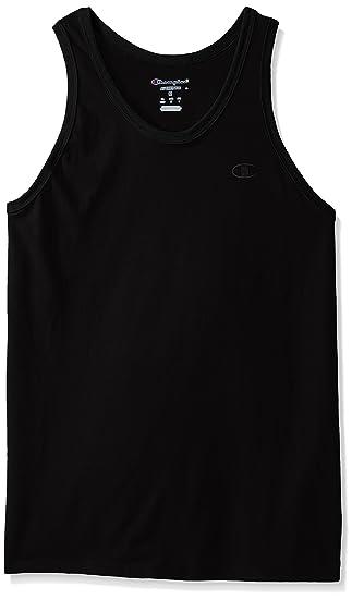 aa039652df5294 Amazon.com  Champion Men s Classic Jersey Ringer Tank Top  Clothing
