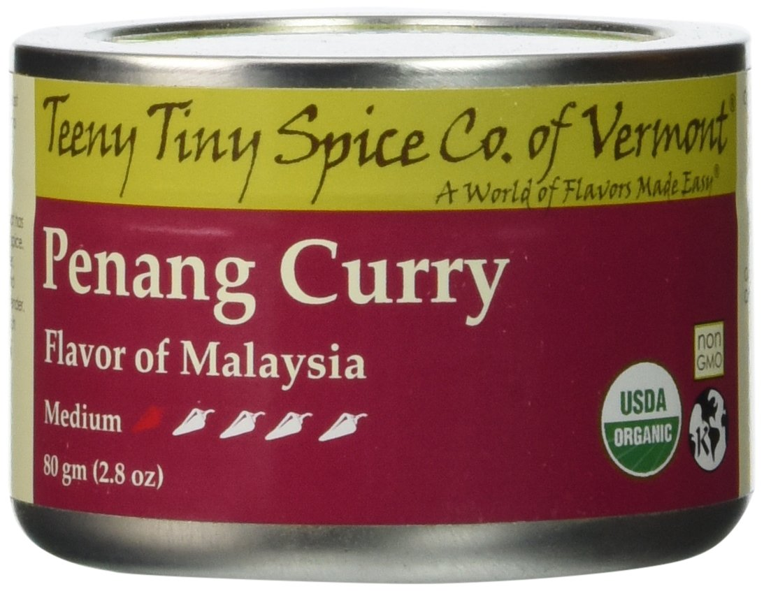 Teeny Tiny Spice Co of Vermont Organic Penang Curry, 2.8 Oz