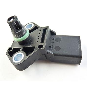 Turbocharger Boost colector sensor de presión de aire mapa 038906051b nuevo para Golf Beetle 2002 - 2006: Amazon.es: Coche y moto