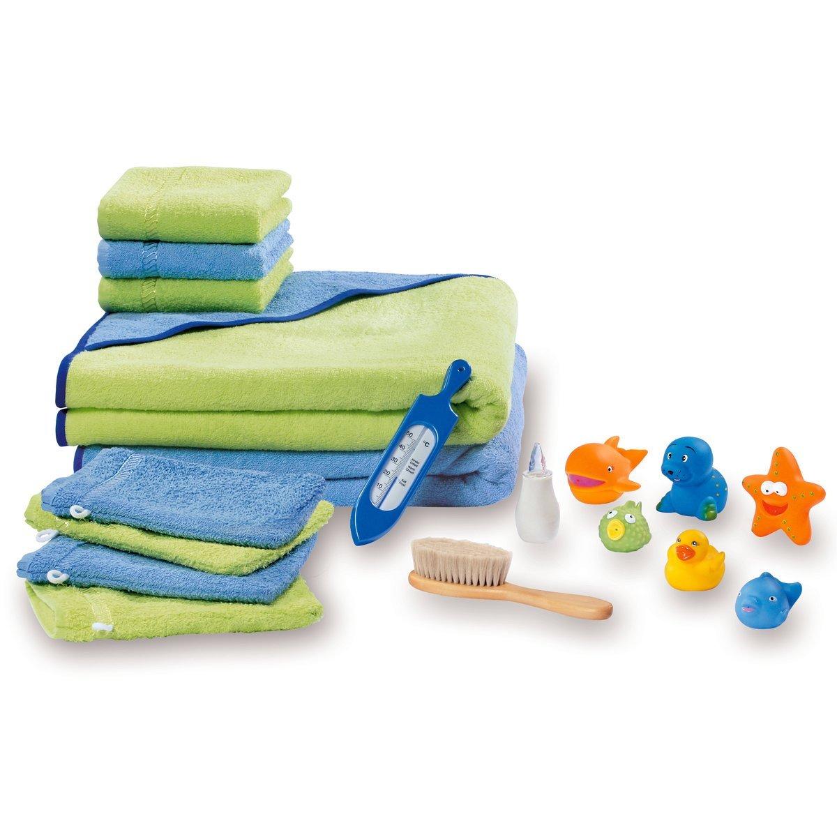 WÖRNER Bade-Set Premium, mehrfarbig
