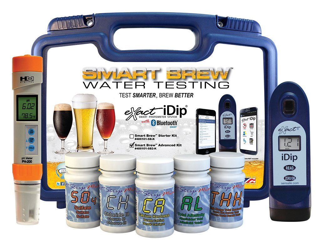 eXact iDip Photometer 486101-SB2-K Smart Brew Starter Kit with pH Meter by Exact