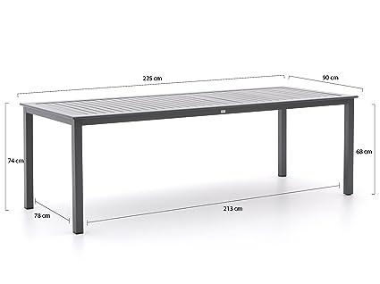 Bellagio Lugo/Susa 225 cm simples Muebles de Jardín Asiento ...