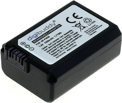 Digibuddy Akku Für Sony Np Fw50 Li Ion Schwarz Kamera