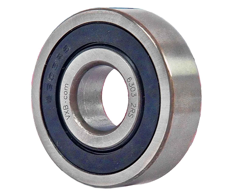 6303-2RS Bearing 17x47x14 Sealed Ball Bearings VXB