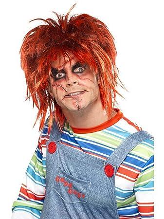 Luxuspiraten Kostum Accessoires Zubehor Chucky Make Up Schminke