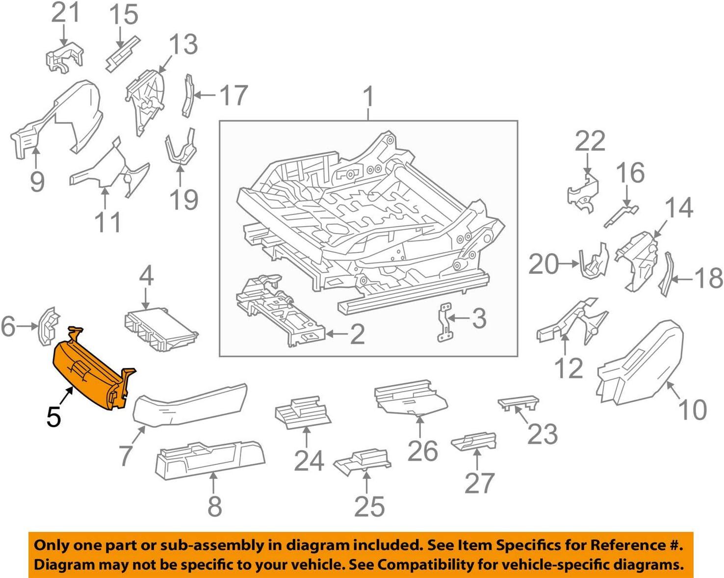 Genuine Mercedes-Benz Storage Compartment 222-919-12-00-7H52