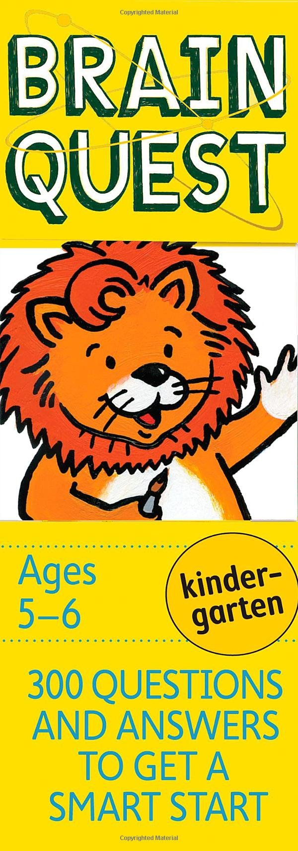 Brain Quest Kindergarten, revised 4th edition: 300 Questions and ...