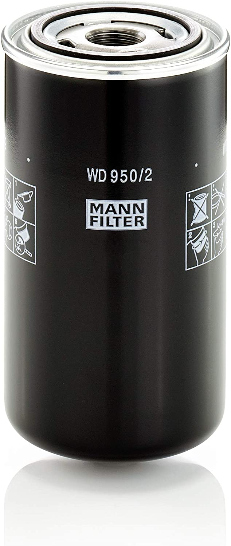 Original Mann Filter Hydraulikfilter Wd 950 2 Für Industrie Land Und Baumaschinen Auto