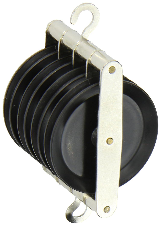 Ajax Scientific Plastic Quadruple Pulley, 50mm Diameter ME420-0004