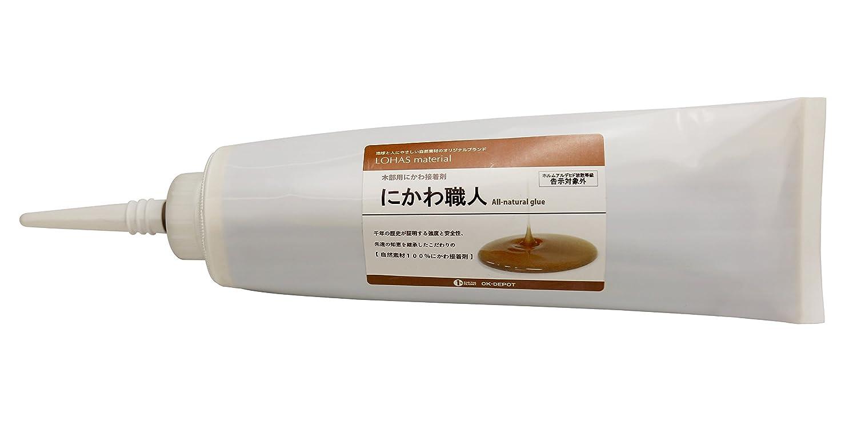 LOHAS material 自然素材100% 木部用にかわ接着剤 にかわ職人 350g×30本入り B019MWP9XE