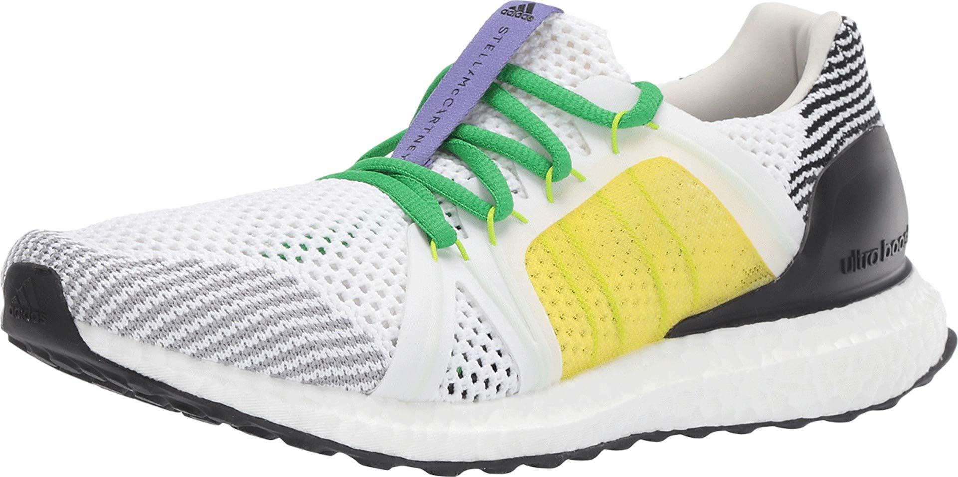 adidas by Stella McCartney Women's Ultraboost Footwear White/Black/White/Fresh Lemon 5 M US