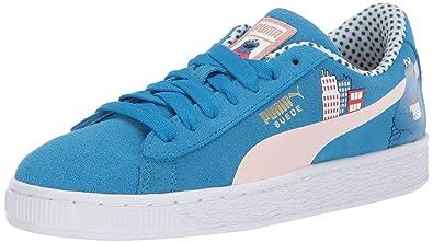 cheap for discount 7c359 78293 PUMA Kids' Sesame Street Suede Sneaker