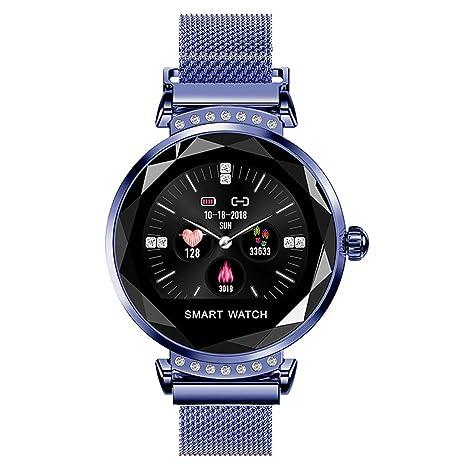 Amazon.com: Z&S - Reloj inteligente para mujer, correa ...