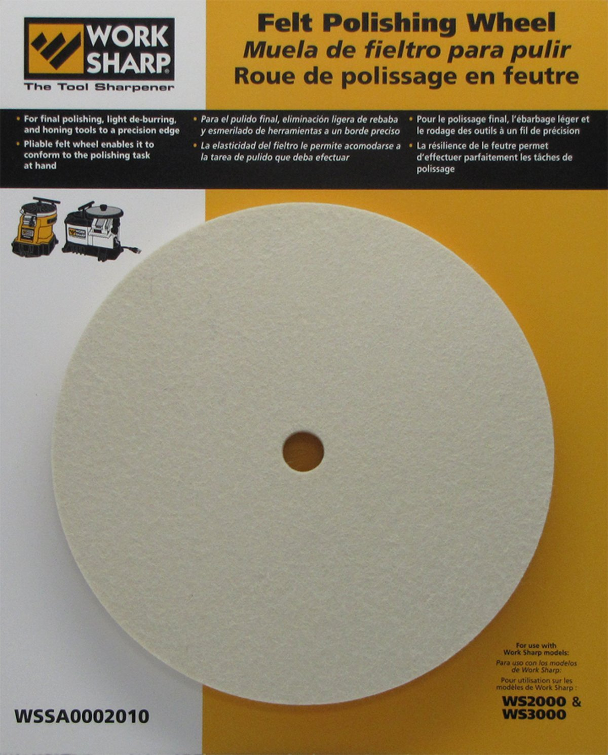 Work Sharp WSSA0002010 Felt Polishing Wheel