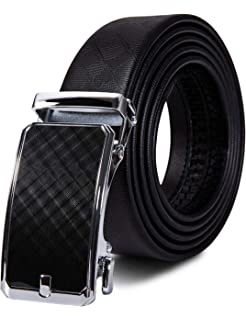 Leather 3.5cm Fashion ratchet belt alloy Belt buckle Auto Lock For Wide 1.4/""
