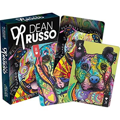 Aquarius Dean Russo Dogs Playing Cards Playing Cards: Toys & Games [5Bkhe0503145]