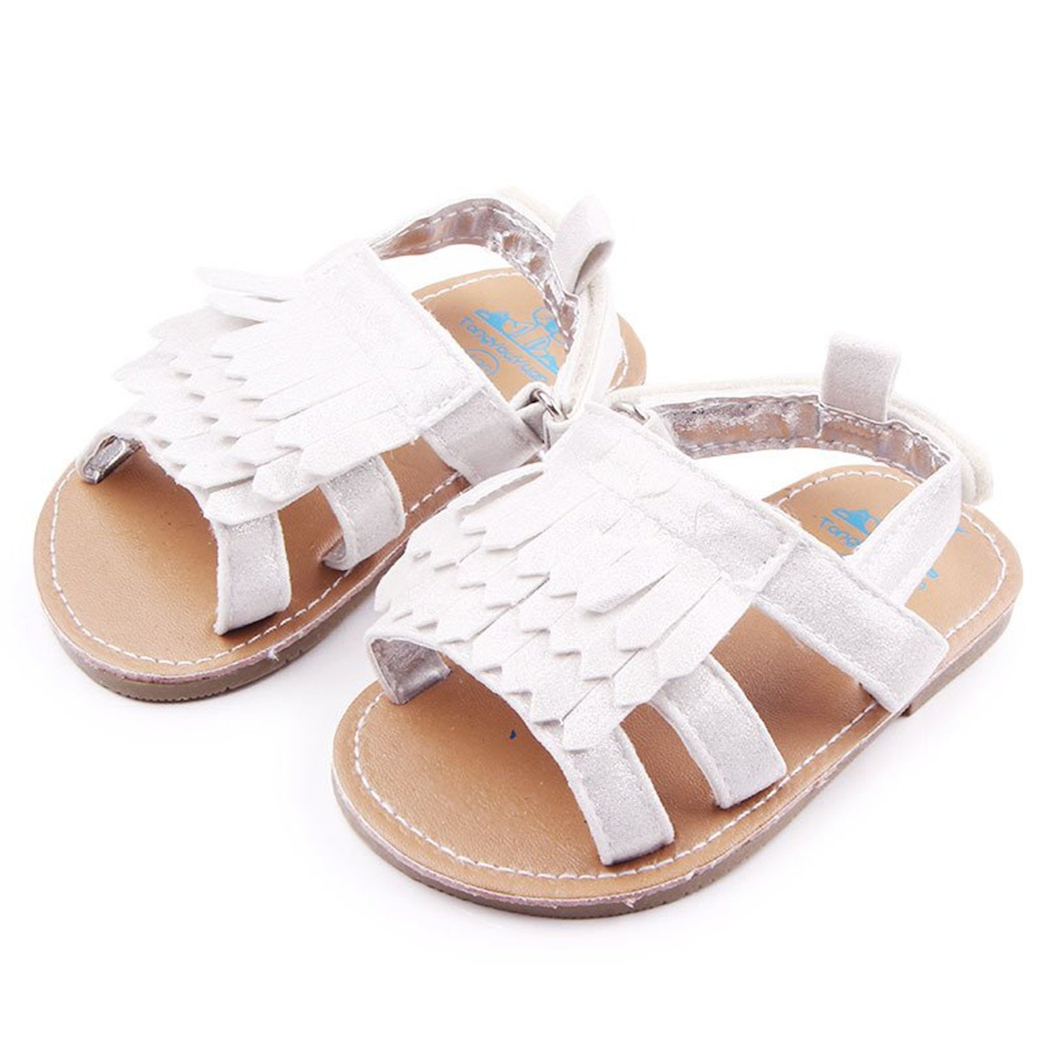 Feilongzaitianba Baby Shoes Summer Baby Sandals Toddler Girls Princess Non Slip Shoes Kids Prewalkers