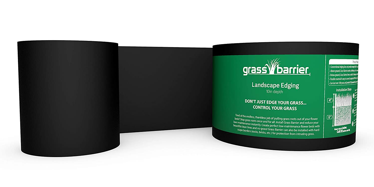 "Grass Barrier - Landscape Edging - 10"" inch Depth - (40 feet)"
