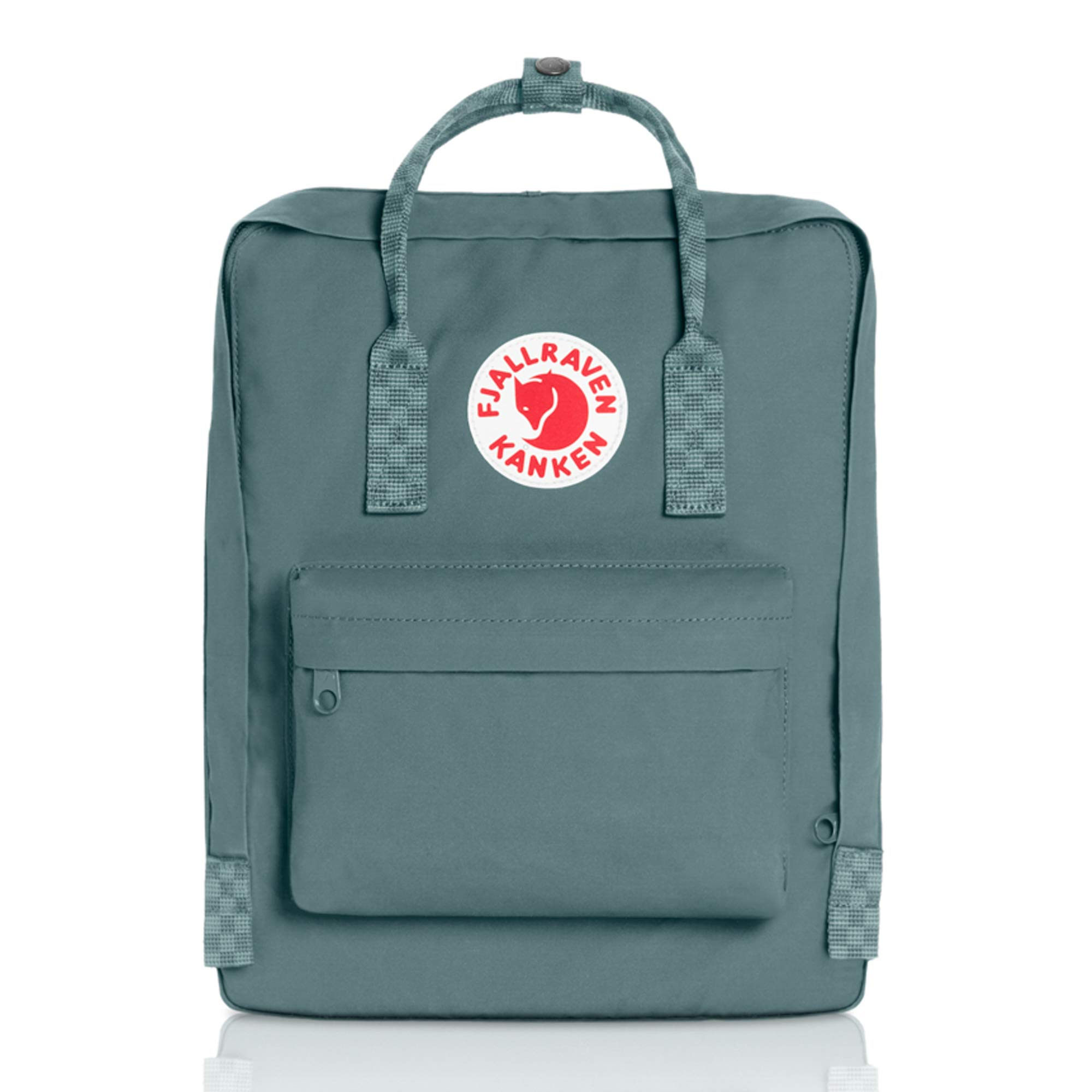 Fjallraven - Kanken Classic Backpack for Everyday, Frost Green-Chess Pattern