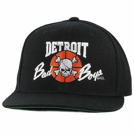 Amazon.com   Detroit Pistons Bad Boys Apparel- Historic Vintage NBA Hats    Sports   Outdoors ef77fe6fed3