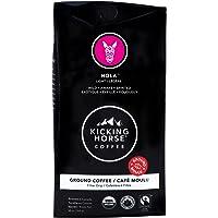 Kicking Horse Coffee, Hola, Light Roast, Ground, 284 g - Certified Organic, Fairtrade, Kosher Coffee
