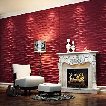 3D Wall Panels   Branches  32 Square Feet. 3D Wall Panels   Branches  32 Square Feet    Wallpaper   Amazon com