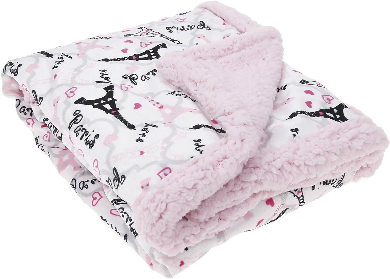 Acogedoras polarfleece-manta manta niños bebé manta 125x150 cm princesa rosa