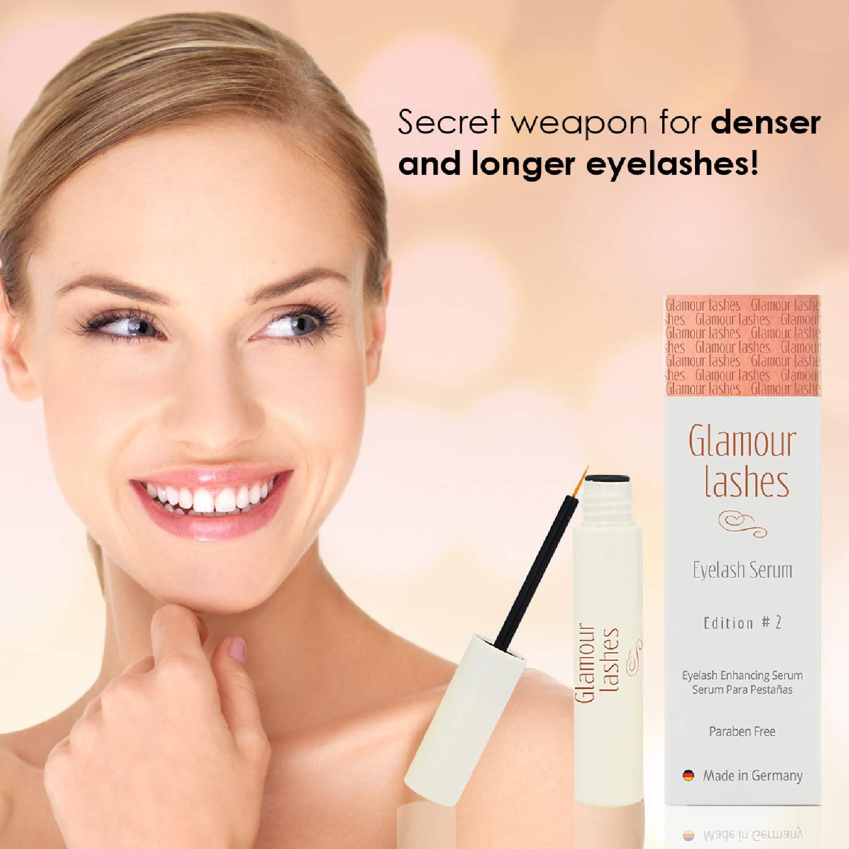 Eyelash Serum 4 ml. Glamor Lashes Edition #2 MADE IN GERMANY I Eyelash Booster I Eyelash Growth Serum |Eyelash Activating Serum