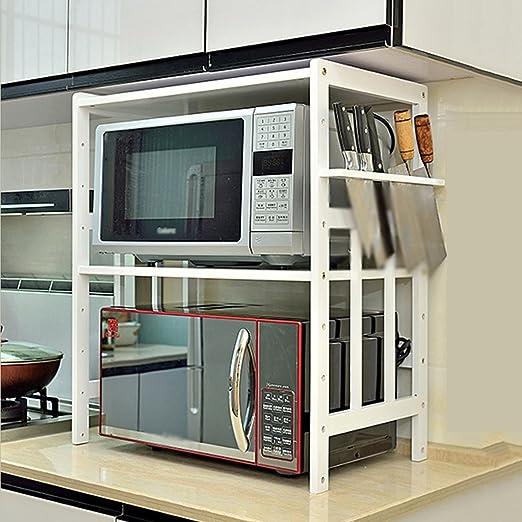 Küchenregale Organizer ZXLDP Mikrowelle Ofen Rack 2 Ebenen Küche ...