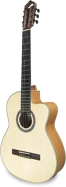 APC Luthier F CW Guitarra clásica (funda incluida): Amazon.es ...