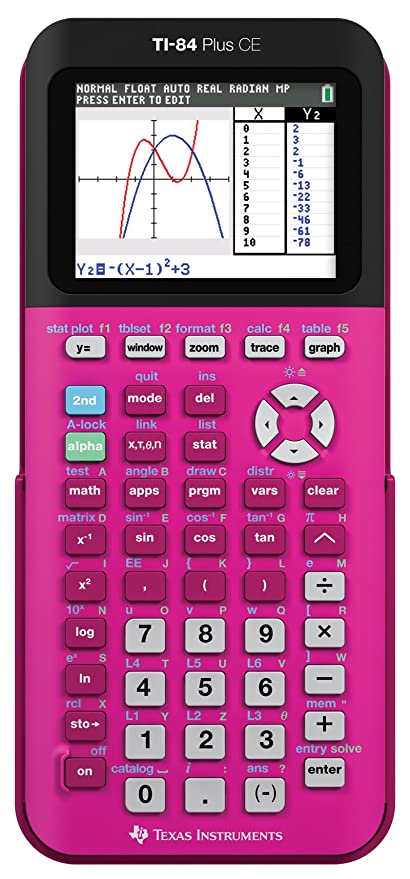 Texas Instruments TI-84 Plus CE Pink Graphing
