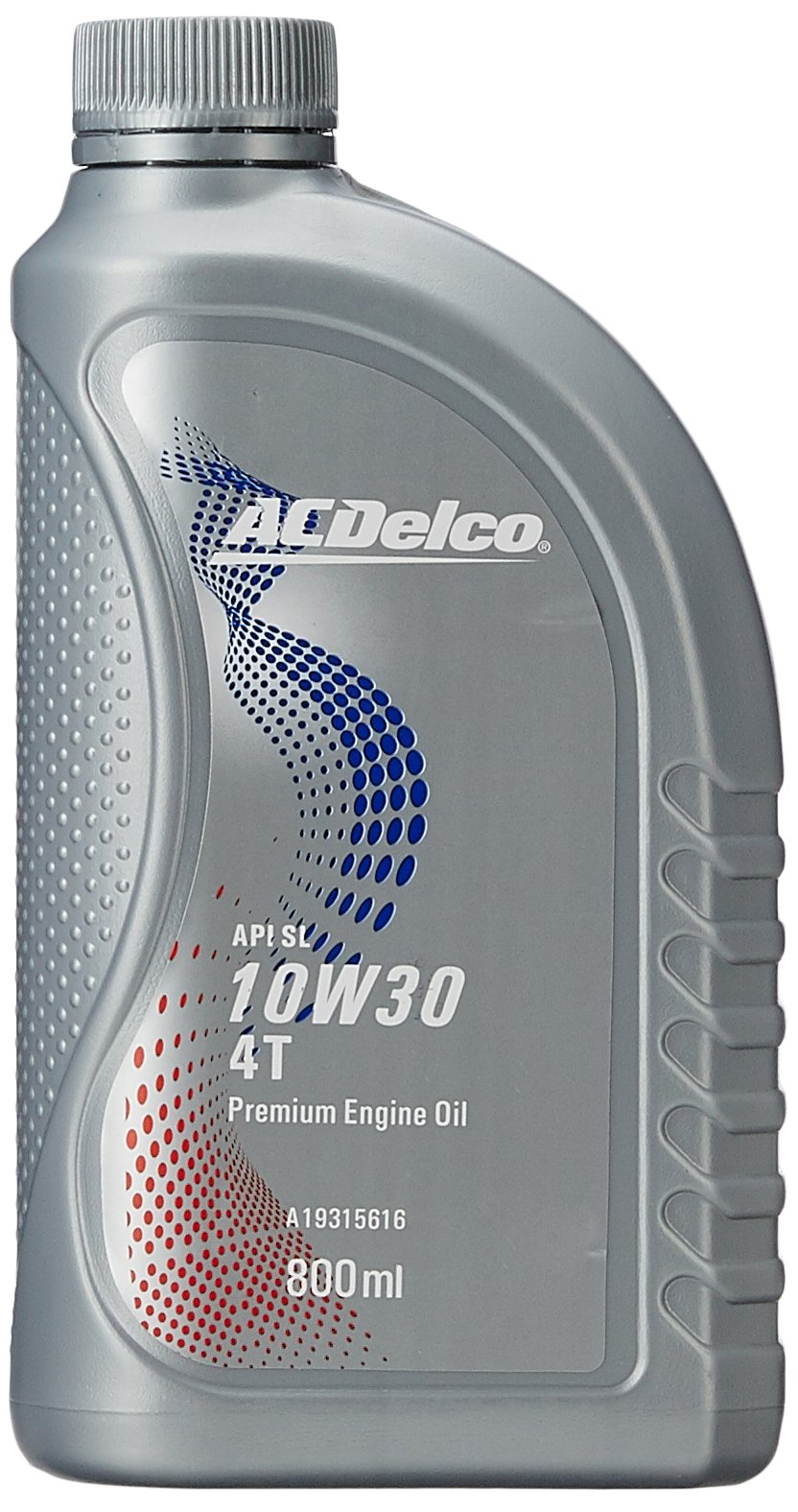 ACDelco A19315616 10W-30 API SL (JASO MA2) High Performance 4T Oil for Motorbikes (800 ML) product image