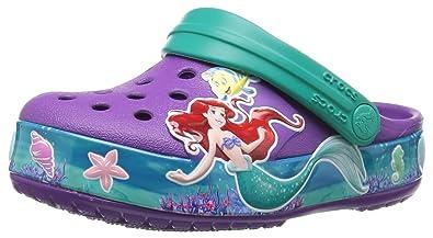 comprare on line 1d501 c9592 Crocs Crocband Princess Ariel Clog, Zoccoli Bambina