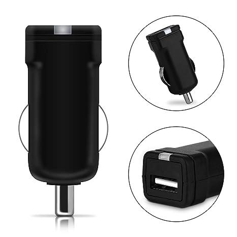 subtel® Cargador de Coche USB 12V / 24V Compatible con ...