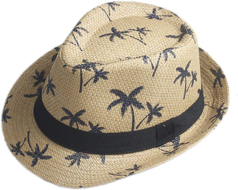 Men Women Summer Sun hat Beach Fashion Cap Fedora Gangster Cap Beach Sun Straw Panama Hat Sunhat in Stock!!!