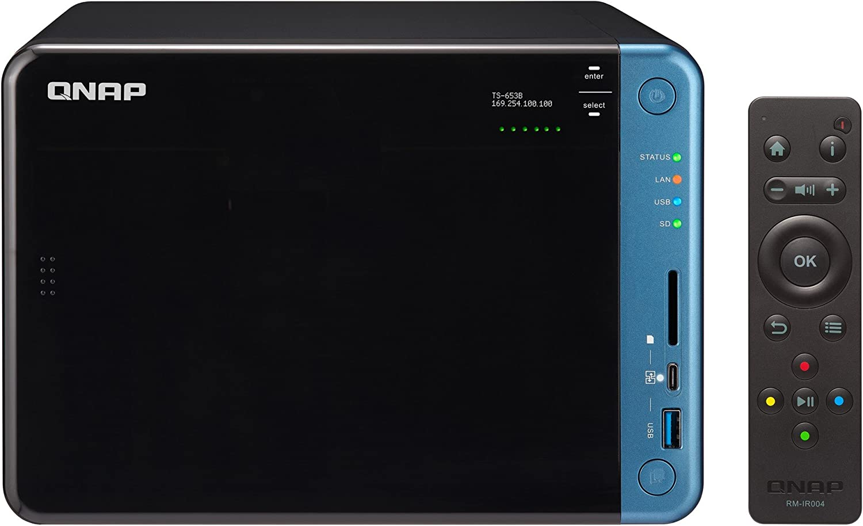 QNAP TS-653B-4G/48TB-IW 6 Bay NAS -