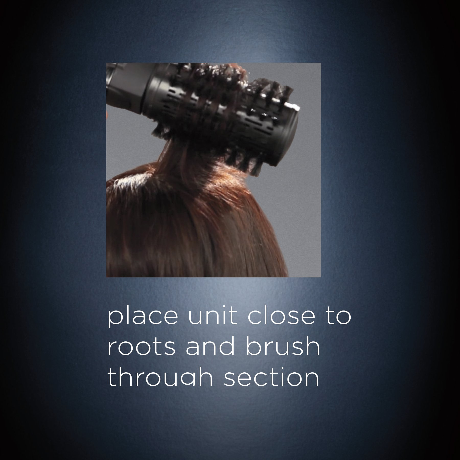 INFINITIPRO BY CONAIR Tourmaline Ceramic Hot Air Brush Styler + Paddle Brush Attachment; Get A Salon Blowout at Home by Conair (Image #7)