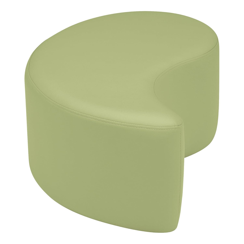 SPG-1002YE-A 18 H Yellow 18 H Sprogs Vinyl Soft Seating Teardrop Stool//Bench