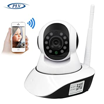 PLV HD 720P Cámara IP Interior WiFi Pan Tilt PTZ Vias Audio P2P Android/iOS